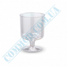 Glass-like glasses for vodka 50ml high transparent 40 pieces per pack