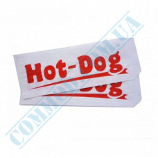 Paper corners 40g/m2 with drawing 210*85mm for Hot Dogs 500 pieces per pack
