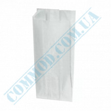 Paper sachets 160*80*50mm White 40g/m2 for French Hot Dogs 1000 pieces per pack article 113