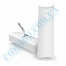 Cardboard package for shawarma and hot dogs 222*76*31mm white 100 pieces per pack
