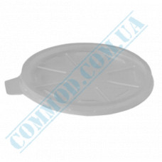 Semi-transparent plastic lids for 340, 500 and 680ml containers Ǿ=115mm 50 pieces per pack