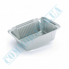 Containers of food foil for 430ml 145*120*40mm 100 pieces article SP24L
