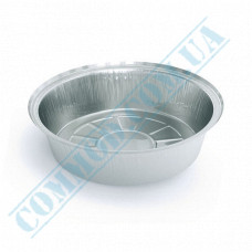 Containers of food foil for 800ml Ǿ=175mm h=43mm 100 pieces per pack article SPT51L