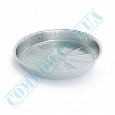 Containers of food foil for 600ml Ǿ=190mm h=25mm 600 pieces per pack article SPT19G