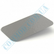 Lids for aluminum containers SP64L cardboard-aluminum flat 100 pieces per pack