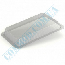 Lids for aluminum containers SP64L plastic high transparent 100 pieces