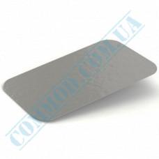 Lids for aluminum containers SPM2L и SPM6L cardboard-aluminum flat 100 pieces