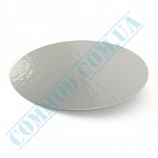 Lids for aluminum containers SPT546L cardboard-aluminum flat 100 pieces
