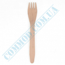 Wooden table forks 165mm 100 pieces Linpac (China)