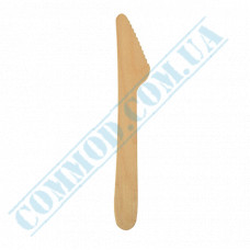 Wooden table knives 160mm 100 pieces Linpac (China)