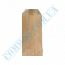 Kraft paper bags for cutlery   160*70mm   40g/m2   art. 1366   2000 pieces per pack