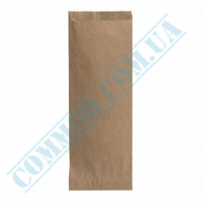 Kraft paper bags for cutlery   220*90mm   50g/m2   art. 95   1000 pieces per pack