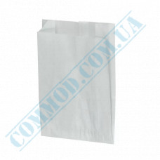 Paper bags 160*120*50mm sachets White 1000 pieces per pack article 308