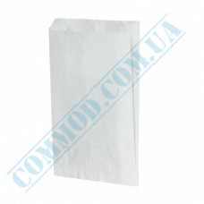 Paper bags 220*140*50mm sachets White 1000 pieces per pack article 243