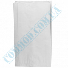 Paper bags 410*250*60mm sachets White 1000 pieces per pack article 103