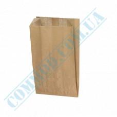 Paper bags 160*100*50mm sachets Kraft 40g/m2 1000 pieces per pack article 1196