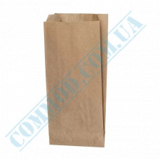 Kraft paper bags | 220*100*50mm | 50g/m2 | art. 503 | 1000 pieces per pack