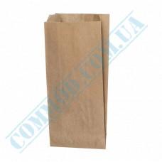 Kraft paper bags | 220*100*50mm | 70g/m2 | art. 896 | 1000 pieces per pack