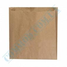 Paper bags 220*200*40mm sachets Kraft 40g/m2 2500 pieces per pack article 909