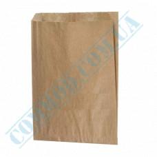 Paper bags 240*200*50mm sachets Kraft 40g/m2 1000 pieces per pack article 271