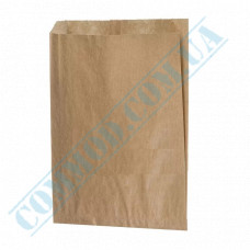 Kraft paper bags | 240*200*50mm | 40g/m2 | art. 271 | 1000 pieces per pack
