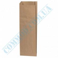 Paper bags 310*100*30mm sachets Kraft 70g/m2 1000 pieces per pack article 100
