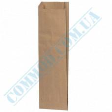 Kraft paper bags | 370*80*40mm | 40g/m2 | art. 272 | 1000 pieces per pack