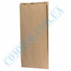 Paper bags 410*250*60mm sachets Kraft 70g/m2 800 pieces per pack article 1099
