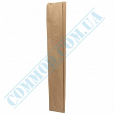 Paper bags 560*100*50mm sachets Kraft 40g/m2 1000 pieces per pack article 1200