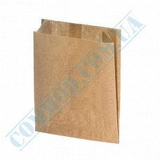 Paper bags 140*120*50mm sachets Kraft 60g/m2 Grease-resistant 1000 pieces article 1778
