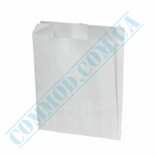 Paper bags 140*120*50mm sachets White 70g/m2 Grease-resistant 1000 pieces per pack article 1785