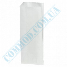 Paper bags 220*90*50mm sachets White 70g/m2 Grease-resistant 1000 pieces per pack article 1870