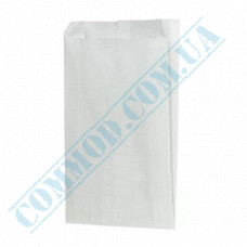 Paper bags 220*140*50mm sachets White 50g/m2 Grease-resistant 1000 pieces per pack article 4527