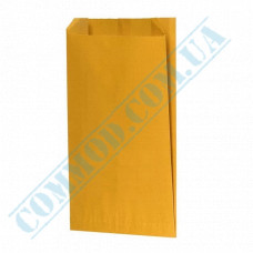 Paper bags 270*160*60mm sachets Yellow 80g/m2 Grease-resistant 1000 pieces article 4038