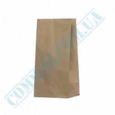 Kraft paper bags with rectangular bottom | 120*85*250mm | 70g/m2 | art. 90 | 250 pieces per pack