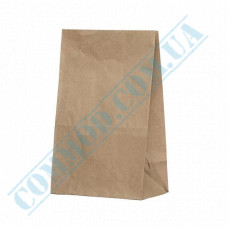 Kraft paper bags with rectangular bottom | 170*120*280mm | 70g/m2 | art. 91 | 200 pieces per package