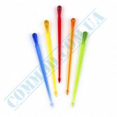 Plastic canapé skewers 8cm Colored picks 1000 pieces