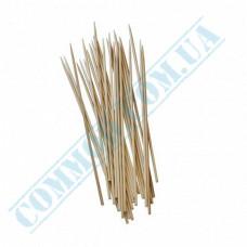 Bamboo BBQ sticks 15cm   Ǿ=3mm   100 pieces per pack