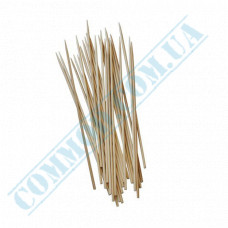Barbecue sticks Ǿ=2.5mm bamboo l= 20cm 100 pieces