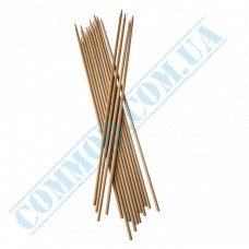 Barbecue sticks Ǿ=3mm bamboo h=25cm 100 pieces