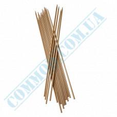 Bamboo BBQ sticks 40cm   Ǿ=3mm   100 pieces per pack