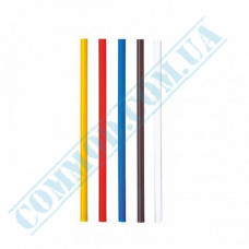 Martini straws   plastic   not flexible   Ǿ=5mm L=125mm   colored   200 pieces per package