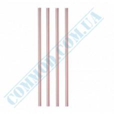 Cocktail straws   plastic   not flexible   Ǿ=7mm L=210mm   striped   500 pieces per pack