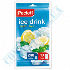 Packages for ice Ice Drink Self Seal Paclan (Poland) 240 pieces in a package