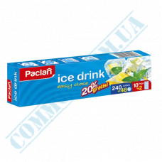 Packages for ice Ice Drink Easy Close Paclan (Poland) 240 pieces in a package