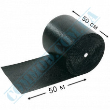 Bubble film 50m*50cm black bubble diameter 10mm