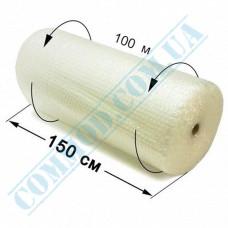 Bubble film 100m*150cm transparent bubble diameter 10mm