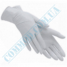 Latex gloves with non-sterile powder 100 pieces per pack size - L weight - 5g