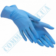 "Nitrile gloves size ""M"" without powder unsterile 100 pieces"