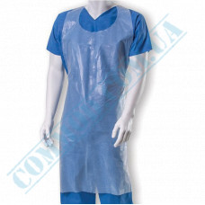 Polyethylene aprons 70*110cm transparent 100 pieces per pack